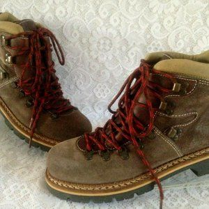Steve Madden ROPPEDD Suede Laced Hiking Boots Sz 8